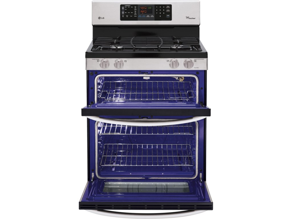 3.9 Cu. Ft. Lower Oven Capacity / 2.2 Cu. Ft. Upper Oven Capacity