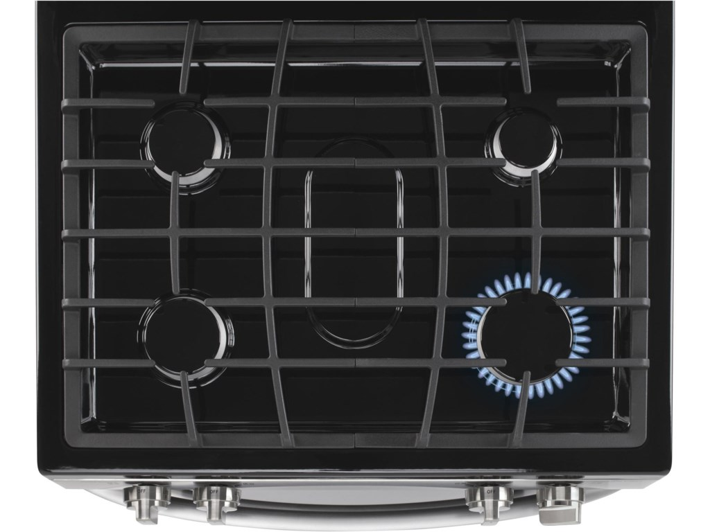 4 Sealed Gas Cooktop Burners