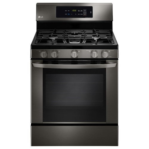 LG Appliances Gas Ranges- LG 5.4 cu. ft. Single Oven Gas Range with EasyClean®