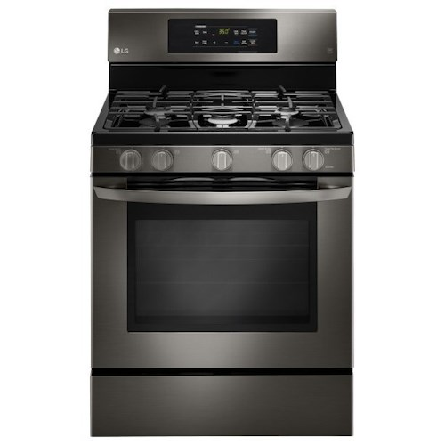 LG Appliances Gas Ranges 5.4 cu.ft. Capacity Gas Single Oven Range with EasyClean®