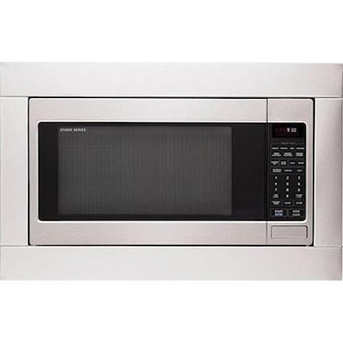 LG Appliances LG Studio Series 2.0 Cu. Ft. Countertop Microwave with Optional Trim Kit