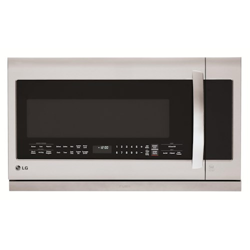 LG Appliances Microwaves 2.2 cu. ft. Over the Range Microwave with ExtendaVent™ 2.0
