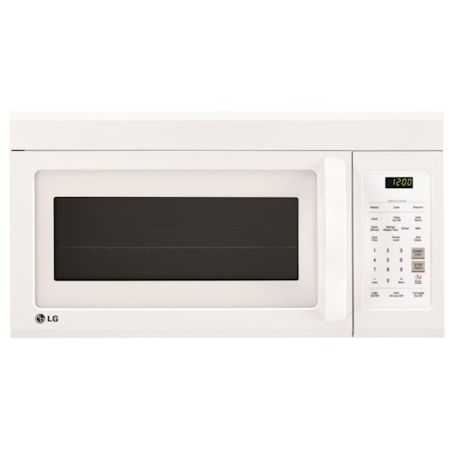 LG Appliances Microwaves 1.8 cu.ft. Over-the-Range Microwave Oven EasyClean™