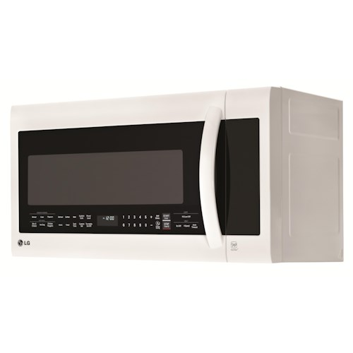 LG Appliances Microwaves 2.0 cu.ft. Over-the-Range Microwave Oven with SmoothTouch™ Glass Controls and EasyClean®