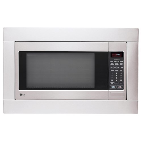 LG Appliances Microwaves 2.0 cu. ft. Built-In Microwave with Sensor Cook