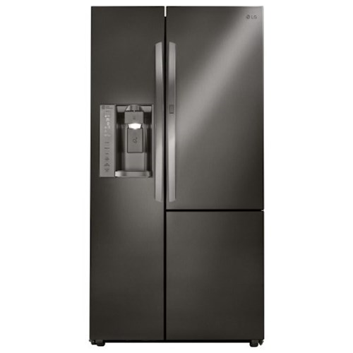 LG Appliances Side by Side Refrigerators- LG 26 cu. ft. Side by Side Refrigerator with Door-In-Door®