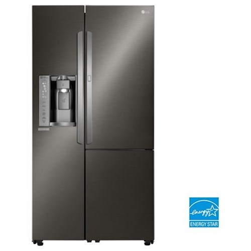 LG Appliances Side by Side Refrigerators- LG ENERGY STAR® 26 cu. ft. Side by Side Refrigerator with Door-In-Door®
