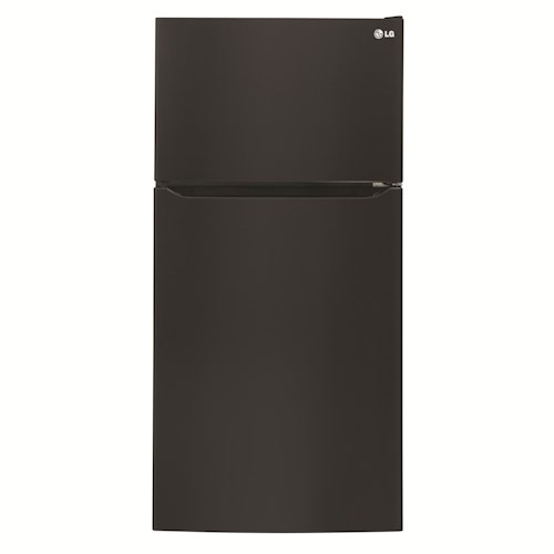 LG Appliances Top-Freezer Refrigerator ENERGY STAR® 20 cu. ft. Top Freezer Refrigerator with Built-In Ice Maker