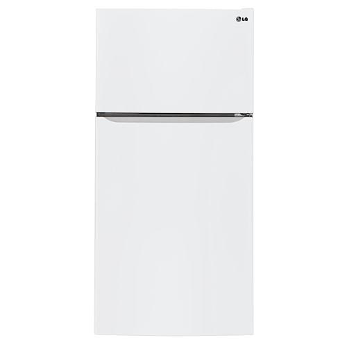 LG Appliances Top-Freezer Refrigerator 24 cu. ft. Top Freezer Refrigerator with Built-In Ice Maker