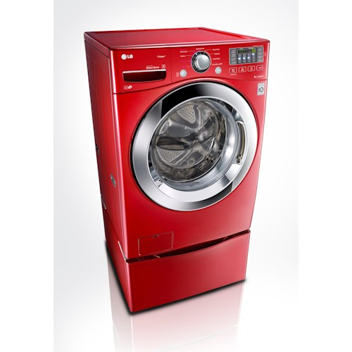 LG Appliances Washers ENERGY STAR® 4.3 Cu. Ft. Front Load Washer with Steam Technology