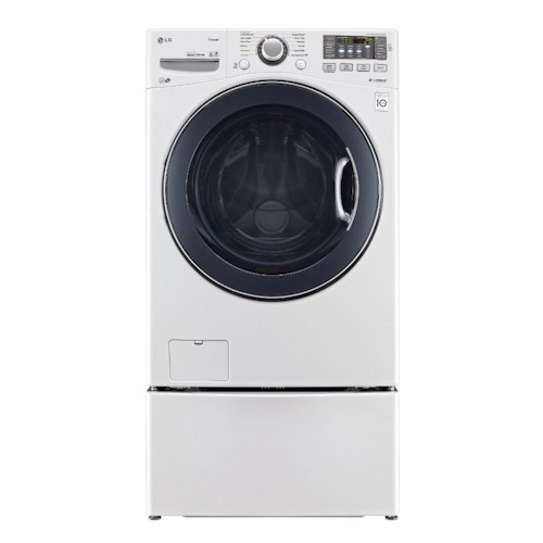 LG Appliances Washers ENERGY STAR® 4.3 Cu. Ft. Front Load Washer with LoDecibel™ Quiet Operation