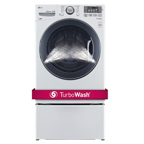 LG Appliances Washers 4.5 Cu. Ft. Ultra Large TurboWash® Front Load Washer