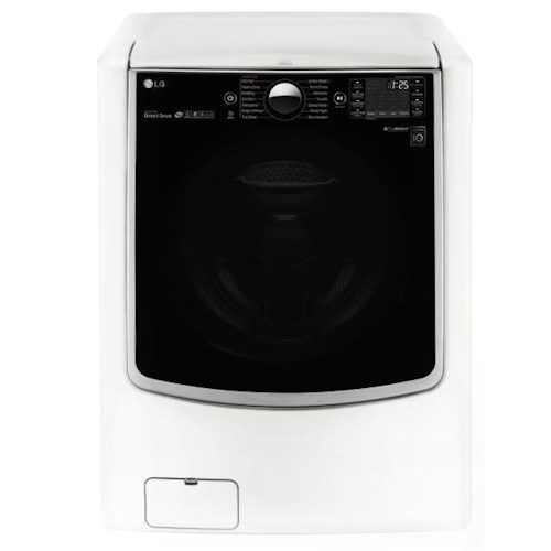 LG Appliances Washers 4.5 Cu. Ft. Mega Capacity TurboWash® Front Load Washer with Steam  Technology