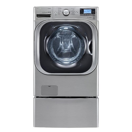 LG Appliances Washers ENERGY STAR® 5.2 Cu. Ft. Front Load Mega-Capacity Washer with