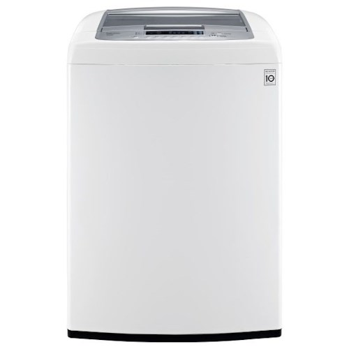 LG Appliances Washers 4.5 cu.ft. Ultra Large Capacity High Efficiency Front Control Top Load Washer