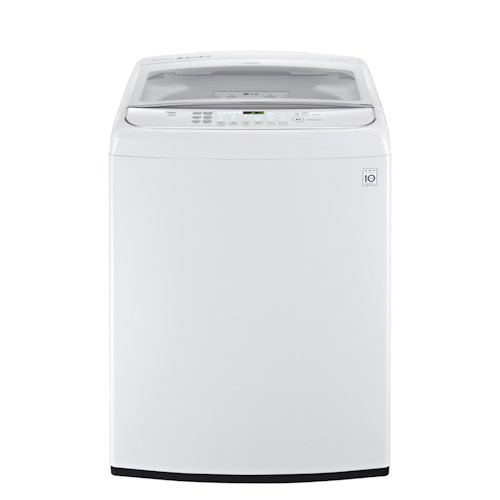 LG Appliances Washers ENERGY STAR® 5.0 Cu. Ft. Top Load TurboWash® Washer with Steam Technology