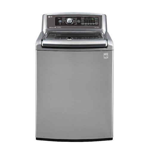 LG Appliances Washers ENERGY STAR® 5.2 Cu. Ft. Top Load Washer with Steam and TurboWash™ Technology