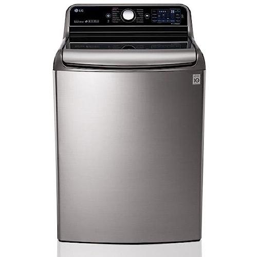 LG Appliances Washers 5.7 Cu. Ft. Mega Capacity Top Load Washer with TurboWash® Technology