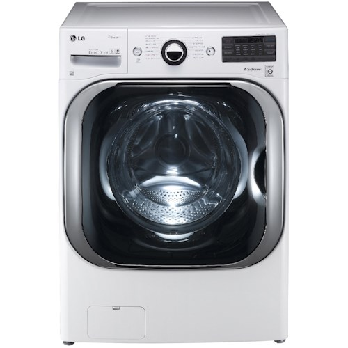 LG Appliances Washers ENERGY STAR® 5.1 Cu. Ft. Front-Load Washer with Steam Technology
