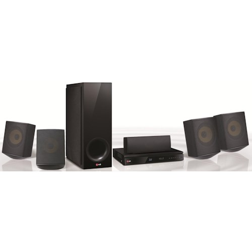 LG Electronics Home Theater 1,000 Watt 5.1 Channel Smart Home Theater System with Blu-Ray Player