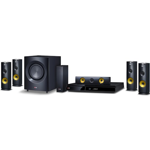 LG Electronics Home Theater 9.1 Channel Home Theater System with 3D Blu-Ray Player and Wireless Rear Speakers