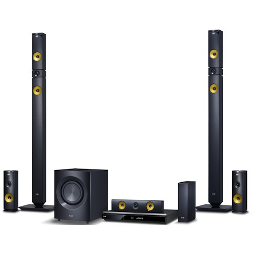 LG Electronics Home Theater 9.1 Channel Home Theater System with 3D Blu-Ray Player and Tallboy Speakers