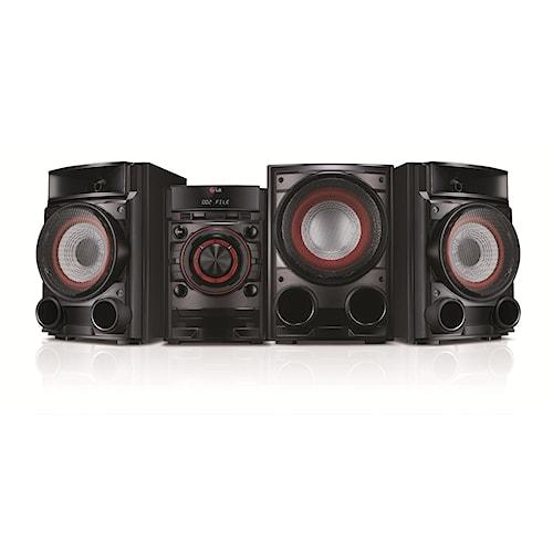 LG Electronics LG Home Audio 500W CD MINI HIFI SHELF SPEAKER SYSTEM