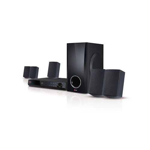 LG Electronics LG Home Theater Systems 2014 500W Smart 3D Blu-ray® Home Theater System