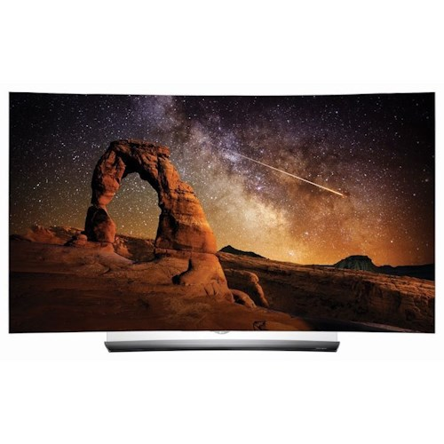 LG Electronics LG OLED 2016 C6 OLED 4K Curved Smart TV - 65