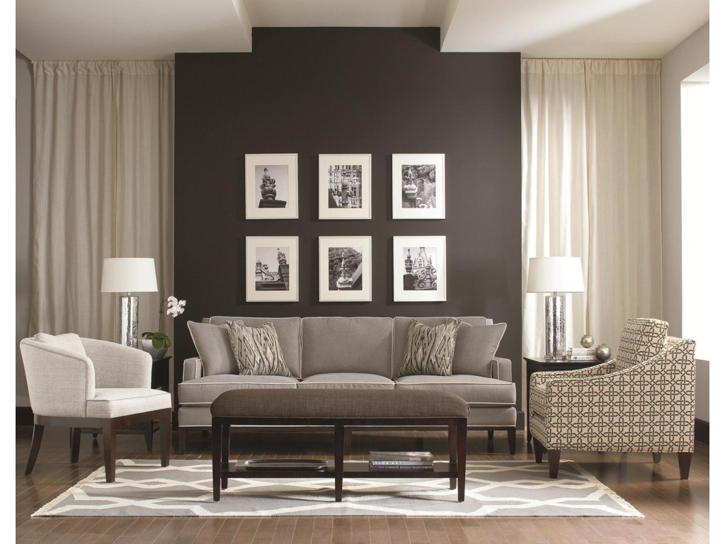 Padded Benches Living Room Libby Langdon For Braxton Culler Libby Langdon Preston Bench