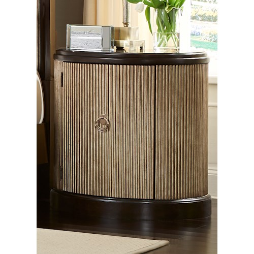 Liberty Furniture Manhattan Demilume Night Stand