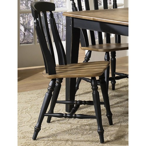 Liberty Furniture Al Fresco II Side Chair with Slat Back