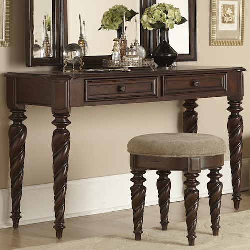 Liberty Furniture Arbor Place Vanity with Two Drawers