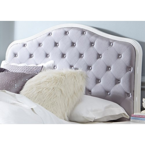 Vendor 5349 Arielle Youth Bedroom Full Uph Panel Headboard