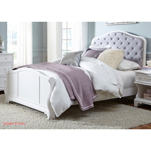 Vendor 5349 Arielle Youth Bedroom Full Panel Bed
