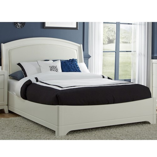 Vendor 5349 Avalon II Queen Leather Bed