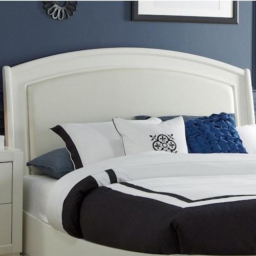 Liberty Furniture Avalon II King Platform Leather Headboard