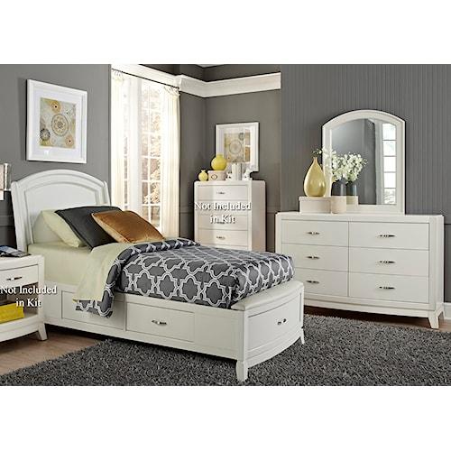 Vendor 5349 Avalon II Full Storage Bedroom Group 1