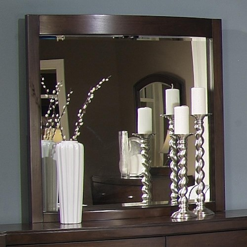 Liberty Furniture Avalon Lighted Dressing Chest Mirror