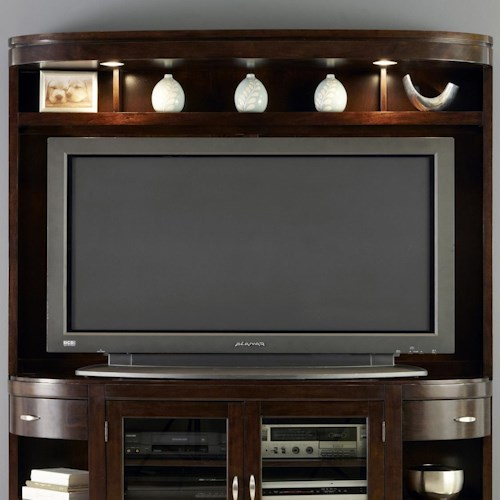 Liberty Furniture Avalon Entertainment Hutch