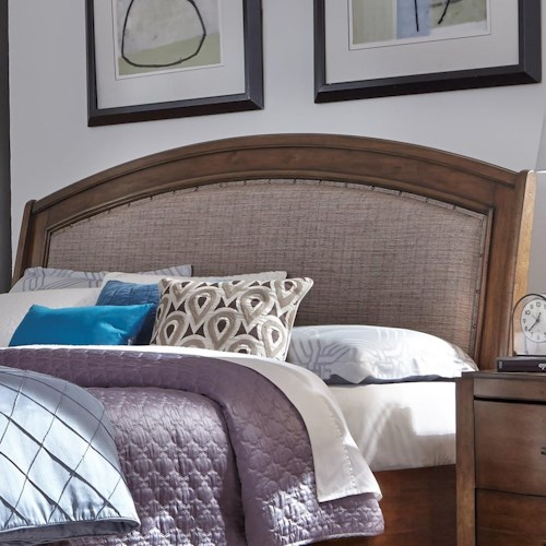 Liberty Furniture Avalon III Queen Upholstered Headboard