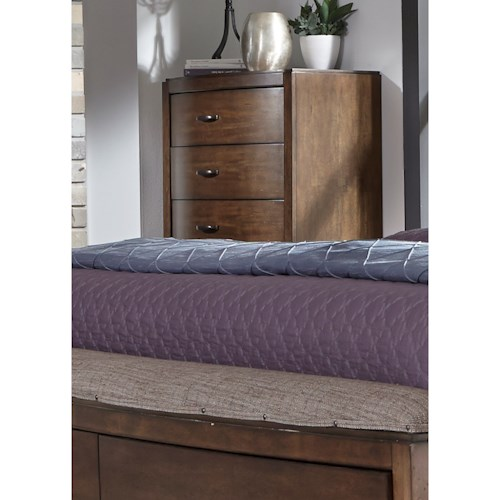 Liberty Furniture Avalon III 5 Drawer Chest with Dovetail Drawers
