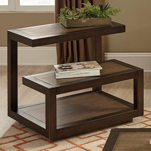Liberty Furniture Bennett Point Mid-Century Modern End Table