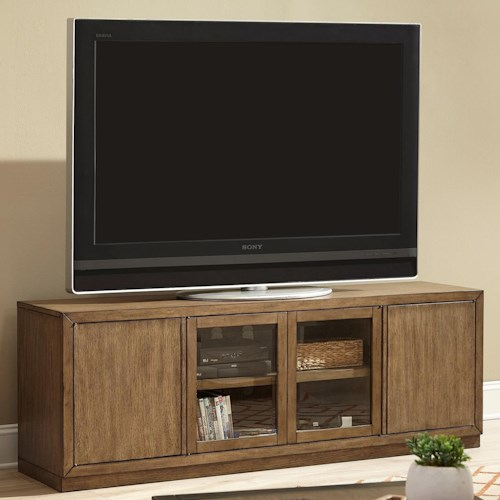 Liberty Furniture Bennett Point Entertainment TV Stand with Wire Management