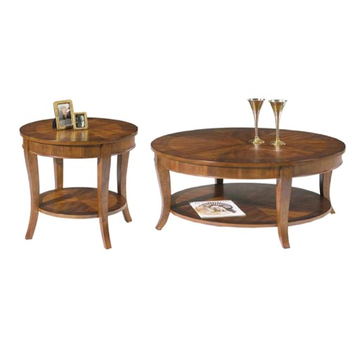 Vendor 5349 Bradshaw 3 Piece Occasional Table Set