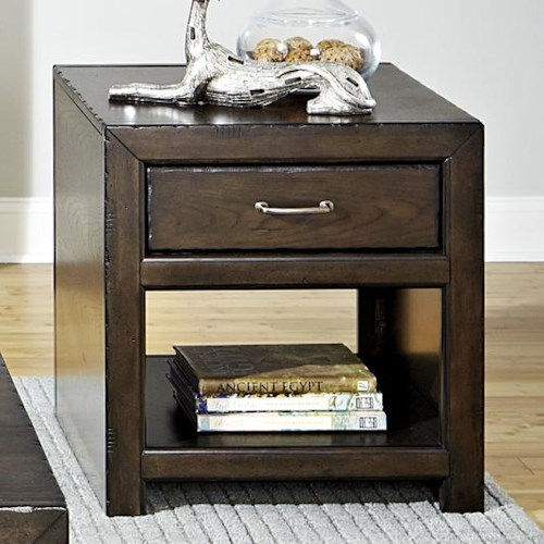 Liberty Furniture Brayden Rustic Casual End Table