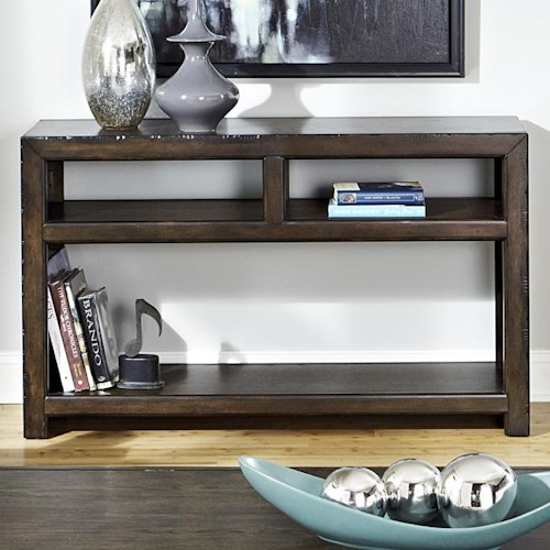 Liberty Furniture Brayden Rustic Casual Sofa Table