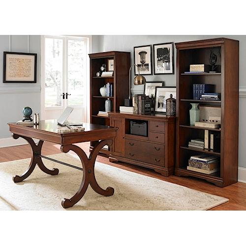 Vendor 5349 Brookview 4 Piece Desk Set