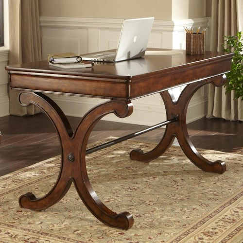 Vendor 5349 Brookview Writing Desk with Center Drop Down Front Drawer