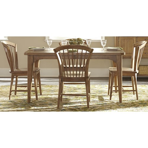 Liberty Furniture Candler 5-Piece Table and Chair Set